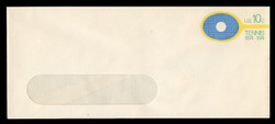U.S. Scott # U 569 1974 10c Tennis Centenary - Mint Envelope, UPSS Size 23-WINDOW