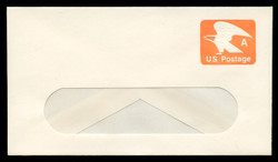 "U.S. Scott # U 580 1978 (15c) ""A"" Eagle Non-Denominated Envelope - Mint Envelope, UPSS Size 12-WINDOW"