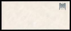 U.S. Scott # U 646G 2001 34c Federal Eagle - Grey and Grey - Mint Envelope, UPSS Size 23