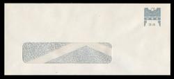 U.S. Scott # U 646G 2001 34c Federal Eagle - Grey and Grey - Mint Envelope, UPSS Size 21-WINDOW