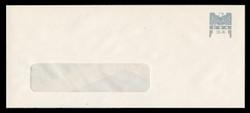 U.S. Scott # U 646G 2001 34c Federal Eagle - Grey and Grey - Mint Envelope, UPSS Size 23-WINDOW