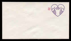 U.S. Scott # U 647 2001 34c Lovebirds - Mint Envelope, UPSS Size 12