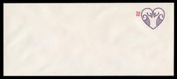 U.S. Scott # U 647 2001 34c Lovebirds - Mint Envelope, UPSS Size 23