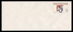 U.S. Scott # U 648 2001 34c Community Colleges - Mint Envelope, UPSS Size 23