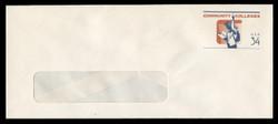 U.S. Scott # U 648 2001 34c Community Colleges - Mint Envelope, UPSS Size 23-WINDOW