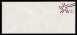 U.S. Scott # U 649 2002 37c Ribbon Star - Mint Envelope, UPSS Size 21