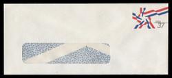 U.S. Scott # U 649 2002 37c Ribbon Star - Mint Envelope, UPSS Size 21-WINDOW