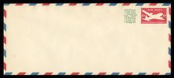 U.S. Scott # UC 30a 1958 6c (UC18a) + 1c DC-4 Skymaster, Type 2 - Mint Envelope, UPSS Size 23
