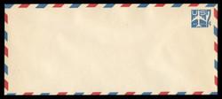 U.S. Scott # UC 33 1958 7c Jet Airliner, Blue - Mint Envelope, UPSS Size 23