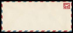 U.S. Scott # UC 36 1960 8c Jet Airliner, Red - Mint Envelope, UPSS Size 23
