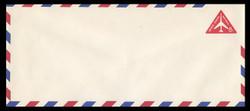 U.S. Scott # UC 37 1965 8c Jet Airliner, Red - Mint Envelope, UPSS Size 23