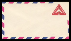 U.S. Scott # UC 40 1968 10c Jet Airliner, Red - Mint Envelope, UPSS Size 12