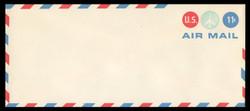 U.S. Scott # UC 43 1971 11c Jet in Blue CIrcle - Mint Envelope, UPSS Size 23