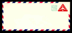 U.S. Scott # UC 45 1971 10c (UC40) + 1c Jet Airliner - Mint Envelope, UPSS Size 23