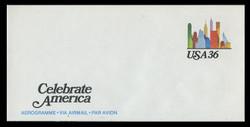 U.S. Scott # UC 59 1985 36c Tourism - Mint Air Letter Sheet