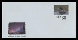 U.S. Scott # UC 65 1999 60c Voyageurs National Park - Mint Air Letter Sheet