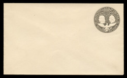 U.S. Scott # U 351, 1893 10c Columbian, slate brown on white - Mint Envelope, UPSS Size 11