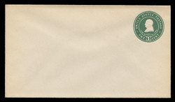 U.S. Scott # U 379, 1903 1c Franklin, green on white - Mint Envelope, UPSS Size 10