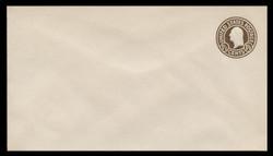 U.S. Scott # U 481, 1925 1½c Washington, brown on white, Die 1 - Mint Envelope, UPSS Size 13