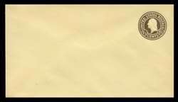 U.S. Scott # U 482, 1925 1½c Washington, brown on amber, Die 1 - Mint Envelope, UPSS Size 10