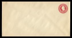 U.S. Scott # U 429, 1915-32 2c Washington, carmine on white, Die 1 - Mint Envelope, UPSS Size 19