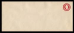 U.S. Scott # U 429, 1915-32 2c Washington, carmine on white, Die 1 - Mint Envelope, UPSS Size 23