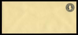 U.S. Scott # U 441, 1915-32 4c Franklin, black on amber, Die 1 - Mint Envelope, UPSS Size 21