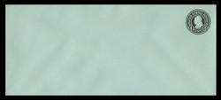 U.S. Scott # U 442, 1915-32 4c Franklin, black on blue, Die 1 - Mint Envelope, UPSS Size 21