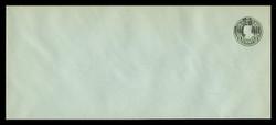 U.S. Scott # U 518a, 19251½c on 1c (U423) Franklin, green on blue, Die 1 - Mint Envelope, UPSS Size 23