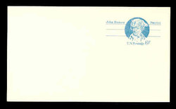 U.S. Scott # UX  64aFL/UPSS #S81bFL, 1972 6c John Hanson - Patriot Series - Mint Postal Card, COARSE, FLUORESCENT (Low Bright) PAPER (See Warranty)