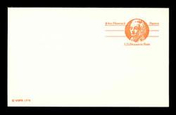 U.S. Scott # UX  74C, 1978 (10c) John Hancock - Patriot Series (Non-Denominated) - Mint Postal Card, COARSE PAPER (See Warranty)