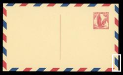 U.S. Scott # UXC  3 B/UPSS #SA3-TB 1958 5c Eagle, red on buff, with red & blue border, Type B - Mint Postal Card (See Warranty)