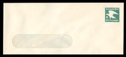 "U.S. Scott # U 607/23-WINDOW, UPSS #3693/47 1985 (20c) ""D"" Eagle Non-Denominated Envelope - Mint (See Warranty)"