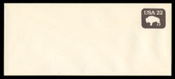 U.S. Scott # U 608/23, UPSS #3696/47 1985 22c American Bison - Mint (See Warranty)