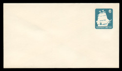 U.S. Scott # U 609/12, UPSS #3705/49A 1985 6c U.S.S. Constitution - Mint (See Warranty)