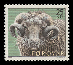 FAROE ISLANDS Scott #  42, 1979 Definitive - Ram