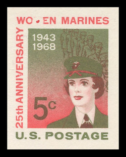 "UX56/S75a Damaged ""M"" in Women Mint Postal Card"