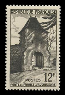 FRANCE Scott #  676, 1952 Gate of France, Vaucouleurs