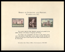 Brookman B  1/Scott SC5 1969 SANDIPEX Souvenir Card