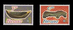 FAROE ISLANDS Scott # 191-2, 1989 EUROPA - Wooden Children's Toys (Set of 2)