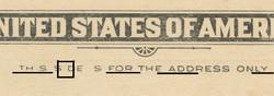 U.S. Scott # UX  14, 1897 1c Thomas Jefferson, black on buff, VARIETY 7 - MINT FACE Postal Card (See Warranty)