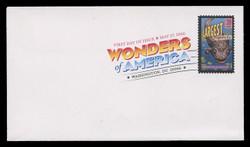 U.S. Scott #4033-72, 2006 39c Wonders of America SET of 40 First Day Covers.  Digital Colorized Postmarks