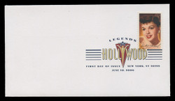 U.S. Scott #4077, 2006 37c Legends of Hollywood - Judy Garland First Day Cover.  Digital Colorized Postmark