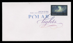 U.S. Scott #4203-4, 2007 41c Auroras SET of 2 First Day Covers.  Digital Colorized Postmarks