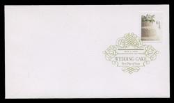 U.S. Scott #4398, 2009 61c Wedding Cake First Day Cover.  Digital Colorized Postmark