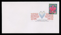 U.S. Scott #4531-40, 2011 (44c) Garden of Love SET of 10 First Day Covers.  Digital Colorized Postmarks