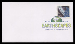 U.S. Scott #4710a-o, 2012 (45c) Earthscapes SET of 15 First Day Covers.  Digital Colorized Postmarks