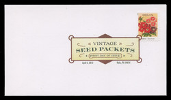 U.S. Scott #4754-63, 2013 (46c) Vintage Seed Packets SET of 10 First Day Covers.  Digital Colorized Postmarks