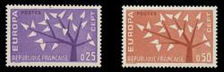 FRANCE Scott # 1005-6, 1960 EUROPA (Set of 2)