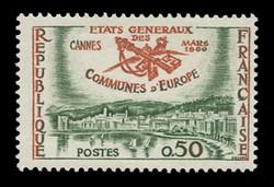 FRANCE Scott #  956, 1960 NATO Municipal Administrators, Cannes